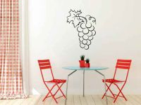Wine Grapes Grapevine Vinyl Wall Decal Sticker Graphic
