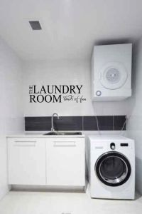 Laundry Room Loads of Fun Wall Words Quote Decal Sticker