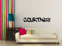 Personalized Custom Name in Graffiti Vinyl Wall Words Decal Sticker