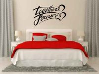 Together Forever Vinyl Wall Words Decal Sticker