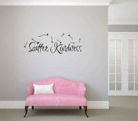 Scatter Kindness Vinyl Wall Words Decal Sticker Graphic