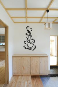 Coffee Cup Vinyl Wall Decal Sticker Graphic