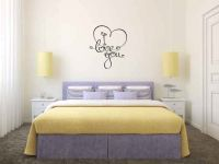 I Love You Vinyl Wall Words Decal Sticker Graphic