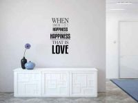 When Someone Else's Happiness is Your Happiness That is Love Vinyl Wall Words Decal Sticker Graphic