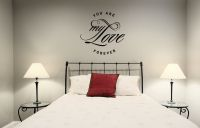 You Are My Love Forever Vinyl Wall Words Decal Sticker Graphic