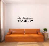Live Laugh Love Family Vinyl Wall Words Decal Sticker Graphic