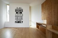 In This Home Family Rules Vinyl Wall Words Decal Sticker Graphic