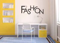 Fashion Vinyl Wall Words Decal Sticker Graphic