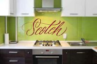 Scotch Vinyl Wall Words Decal Sticker Graphic