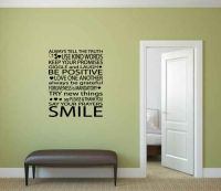The Rules of Family Life Vinyl Wall Words Decal Sticker Graphic