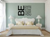 Be Thankful Kind A Friend Honest Caring You Vinyl Wall Words Decal Sticker Graphic