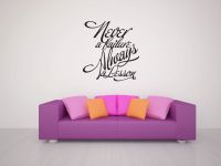 Never A Failure Always A Lesson Vinyl Wall Words Decal Sticker Graphic