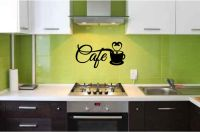 Coffee Cafe Vinyl Wall Words Decal Sticker Graphic