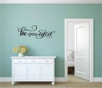 Be-You-Tiful Beautiful Vinyl Wall Words Decal Sticker Graphic