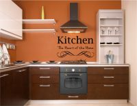Kitchen The Heart of the Home Vinyl Wall Words Decal Sticker Graphic