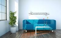 Life Is Not Measured By the Breaths We Take Wall Words Decal