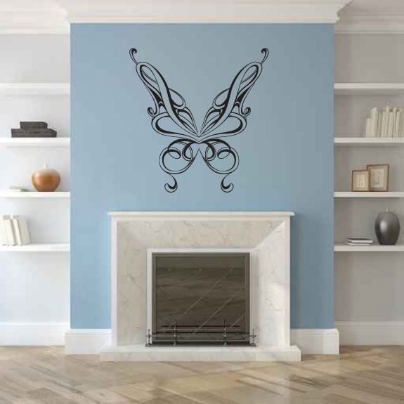 Beautiful Butterfly Vinyl Wall Decal Sticker Graphic