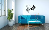 Butterfly Wall Words Decal