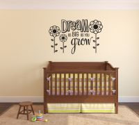 Dream as Big as You Grow Wall Words Decal Decal