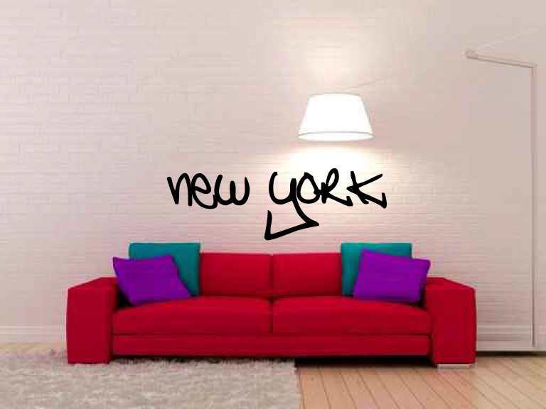 Graffiti New York Vinyl Wall Decal Sticker Graphic