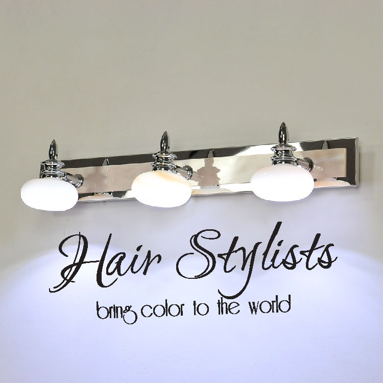 Hair Stylists Bring Color to the World Vinyl Wall Words Decal Sticker Graphic