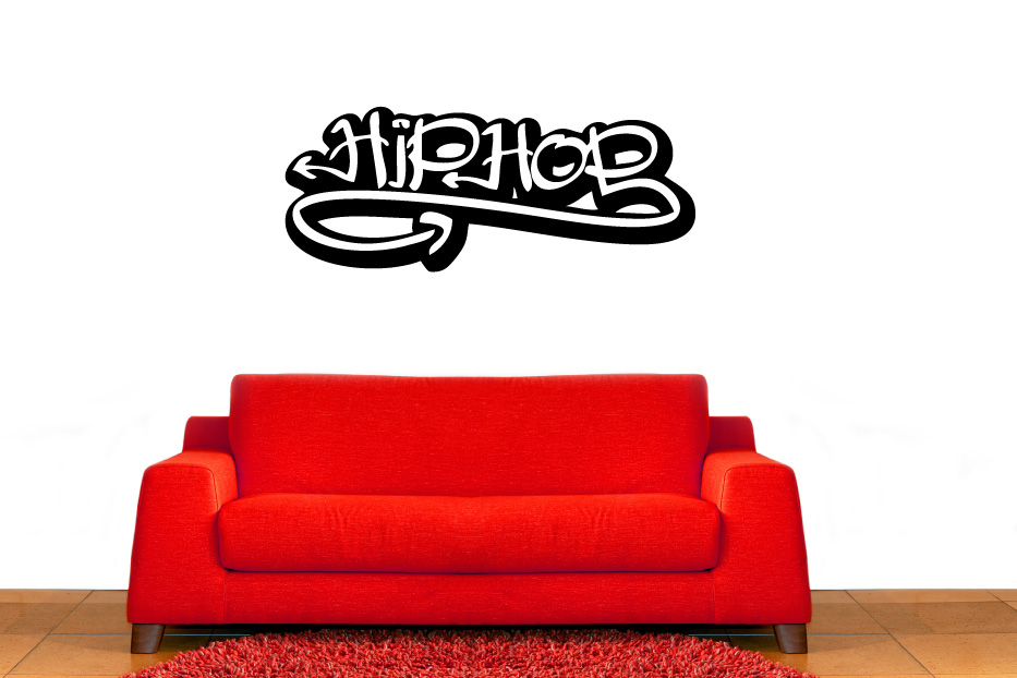 Hip Hop Graffiti Vinyl Wall Decal Sticker