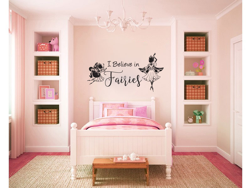 I Believe in Fairies Vinyl Wall Decal Sticker Graphic