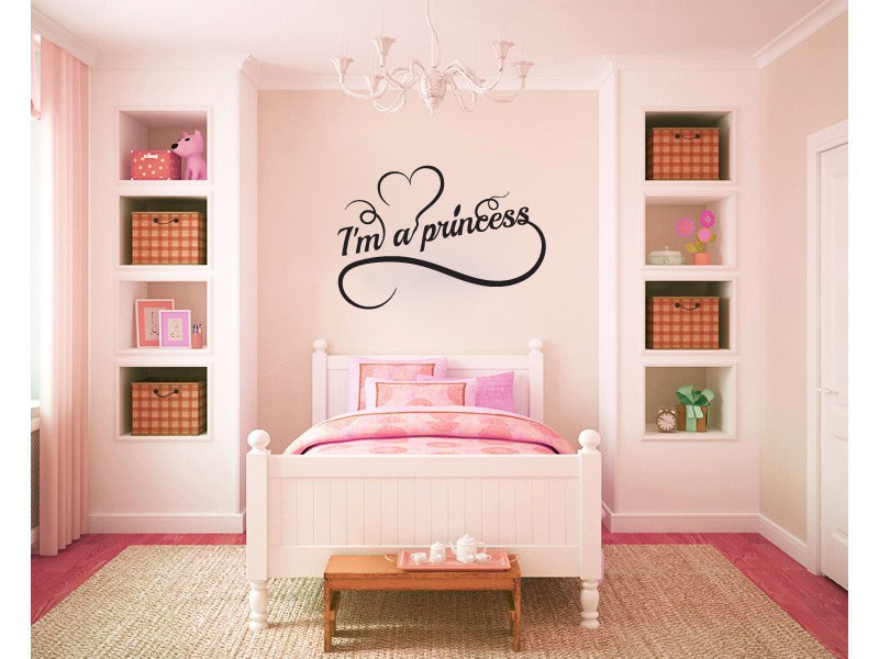 I'm a Princess Vinyl Wall Decal Sticker Graphic