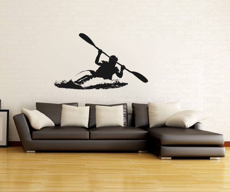 Kayak Vinyl Wall Decal Sticker Graphic