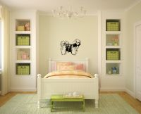Lhasa Apso Life Size Vinyl Wall Decal Sticker Graphic