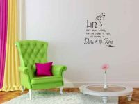 Life Isn't About Waiting for the Storm to Pass It's Learning to Dance in the Rain Wall Decal Words
