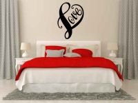 Love Heart Vinyl Wall Words Decal