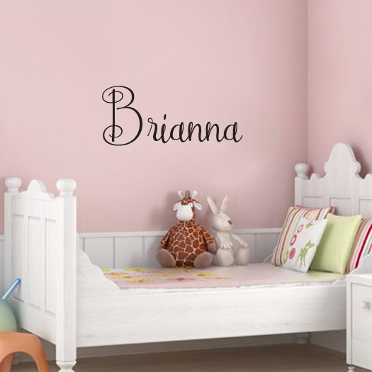 Personalized Name Wall Words Decal