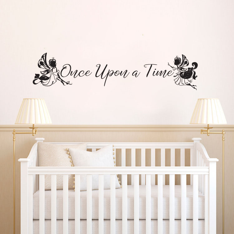 Once Upon A Time Vinyl Wall Decal Sticker Graphic