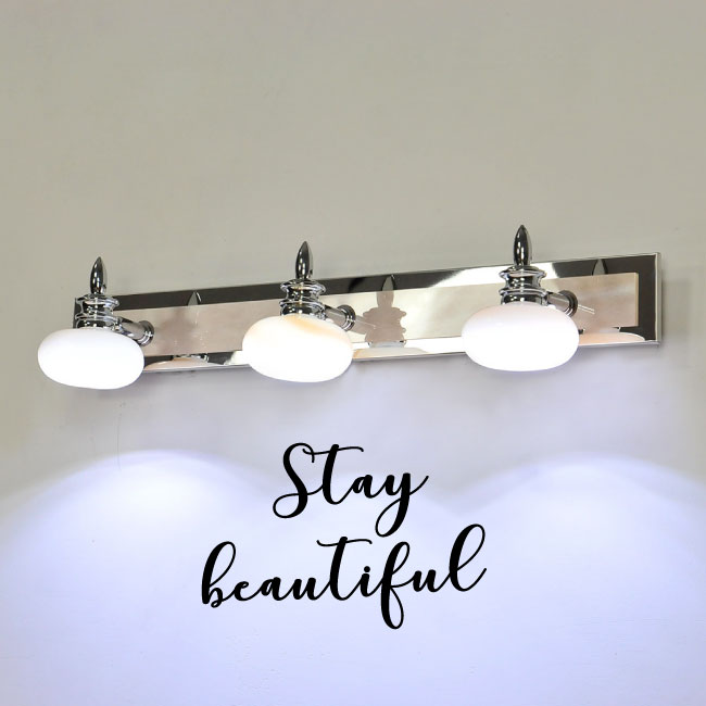 Stay Beautiful Vinyl Wall Words Decal Sticker Graphic